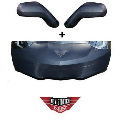 C7 Corvette NoviStretch Front + Mirror Bra Stretch Masks FBM750V + MC150
