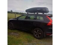 CAR ROOF BOX LARGE 570L ON VOLVO XC60