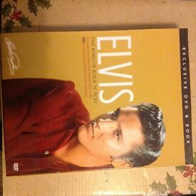 Elvis DVD and book set new condition