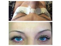 Luscious eyelash extensions