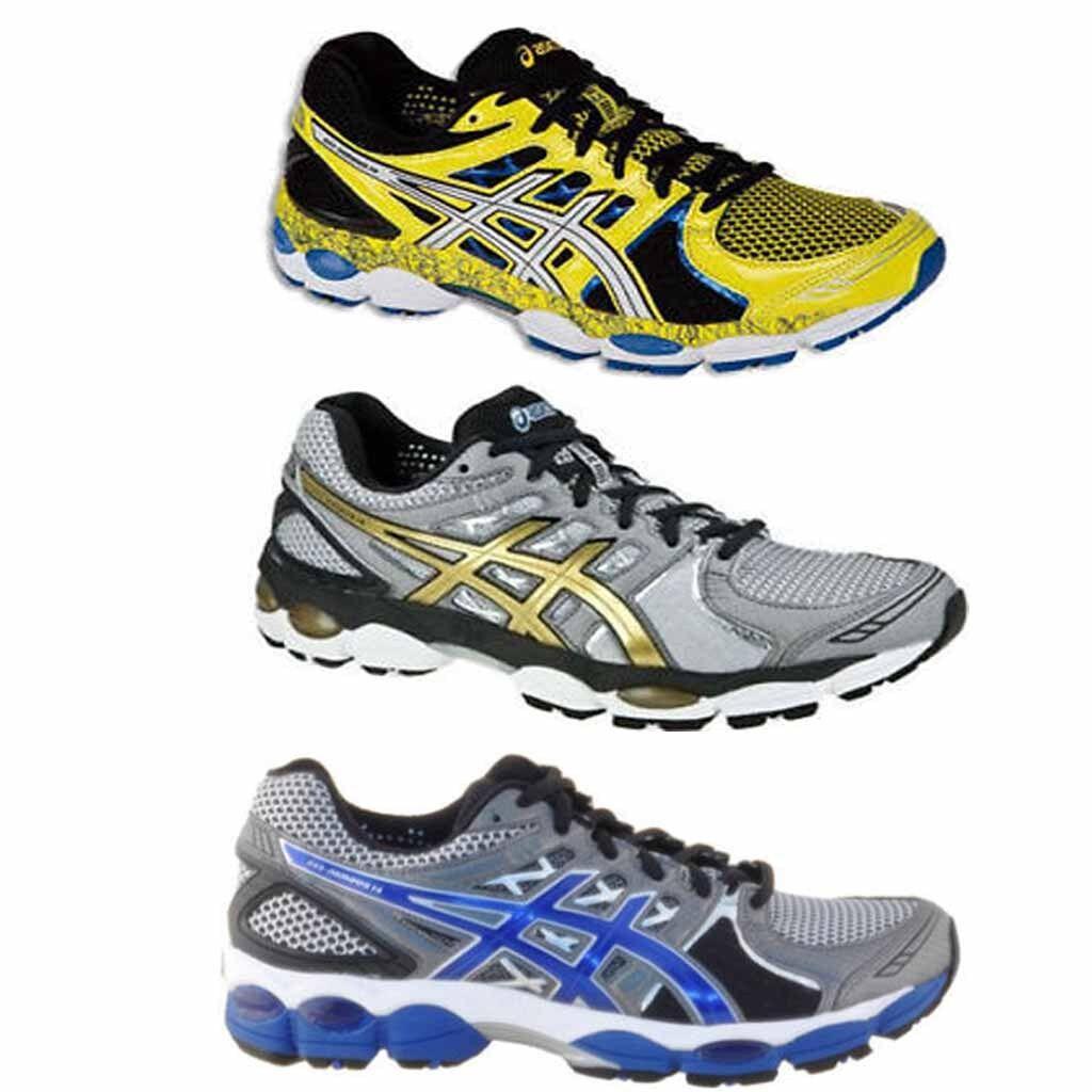 Asics Gel Nimbus 14 Mens Cushioned Running Sport Shoes