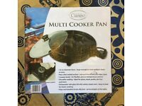 Electric multi-cooker pan - Brand new, never used - Collection only