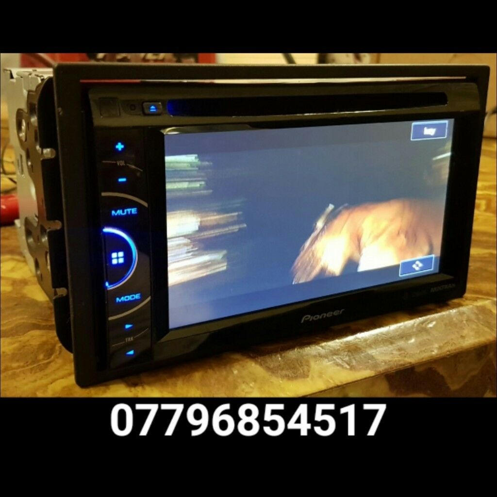 Pioneer AVH-X3500DAB In Car Double Din CD DVD Player