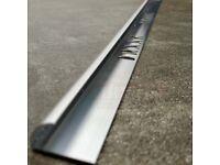 10 mm round edge tile trim aluminium chrome finish