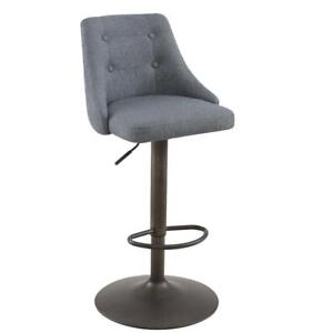 Grey Gas Lift Stool Sale-WO 7631 (BD-2539)