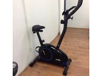 JLL JF150 Upright Exercise Bike (Blue)- Ex Showroom Model- Collection Only