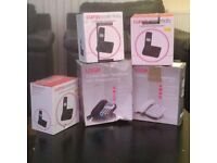For sale: Qty 5x Home Telephones (3x Cordless & 2x Corded) - old stock, all Boxed up