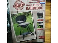 Barbeque oval kettle new