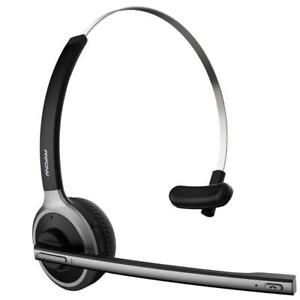 NEW Mpow Wireless Office Monaural Headset/ Truck Driver Headset, [Upgrade Version] V4.1