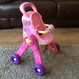 Vtech Little Love 3-1 Dolls Pram RRP £40
