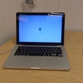 "2008 13"" Apple Macbook Core 2 Duo 2.4Ghz 4GB 500GB HDD 9400M 256MB GPU AST11"
