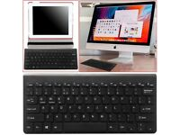 NEW Slim Wireless Bluetooth Keyboard For Macbook Pro iMac iPad Android Phone Tablet PC UK