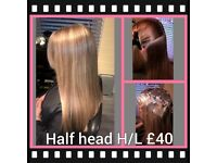 Hairdressing / hairdresser services offered evenings in Ilford, Essex, Barking, Dagenham, Redbridge.