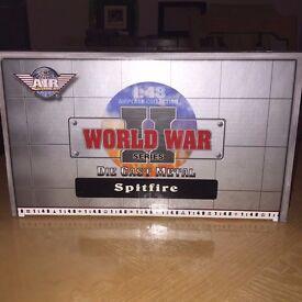 LIMITED EDITION 1:48 SPITFIRE WORLD WAR II DIECAST METAL