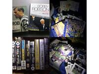 NUFC VHS, match programmes and books
