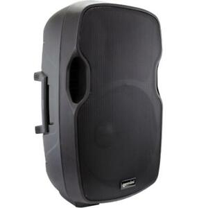 GEMINI AS-15P 15-INCH ACTIVE POWERED SPEAKER Great for home parties