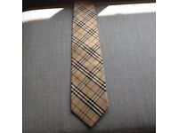 Burberry Haymarket Tie - Normally £135 - Only worn once
