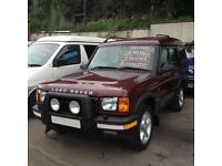 VERY HI SPEC LAND ROVER DISCOVERY TD GS AUTO 7 SEATER/ LOW MILES /ALLOYS/FACTORY TOW PACK