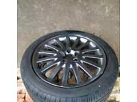 Genuine refurbished undamaged 17x7j Volvo wheel with 205/50x17 ZV5 Avon tyre
