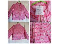 Disney princess jacket size 4 years