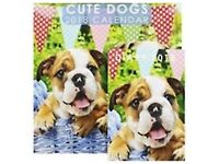 Cute Dogs 2018 Calendar And Diary Set