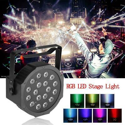 54W LED Stage Lighting RGB Projector Lights DMX Wedding Party Club DJ Show US