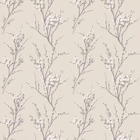 Laura Ashley Pussy Willow wallpaper (4 rolls)