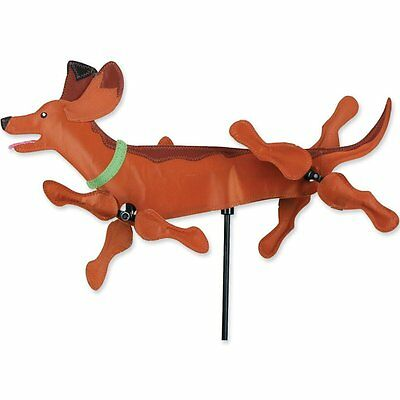 Yard Wind Spinners   20 Dachshund Whirligig Wind Spinner    Yard Stake     Garden Decor
