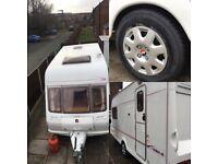 Fleetwood Colchester 420/2 2002 Two Berth Touring Caravan