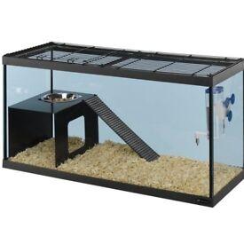 FERPLAST RATATOUT 80 RAT/ Hamster/ Gerbil / Mice CAGE WITH ACCESSORIES