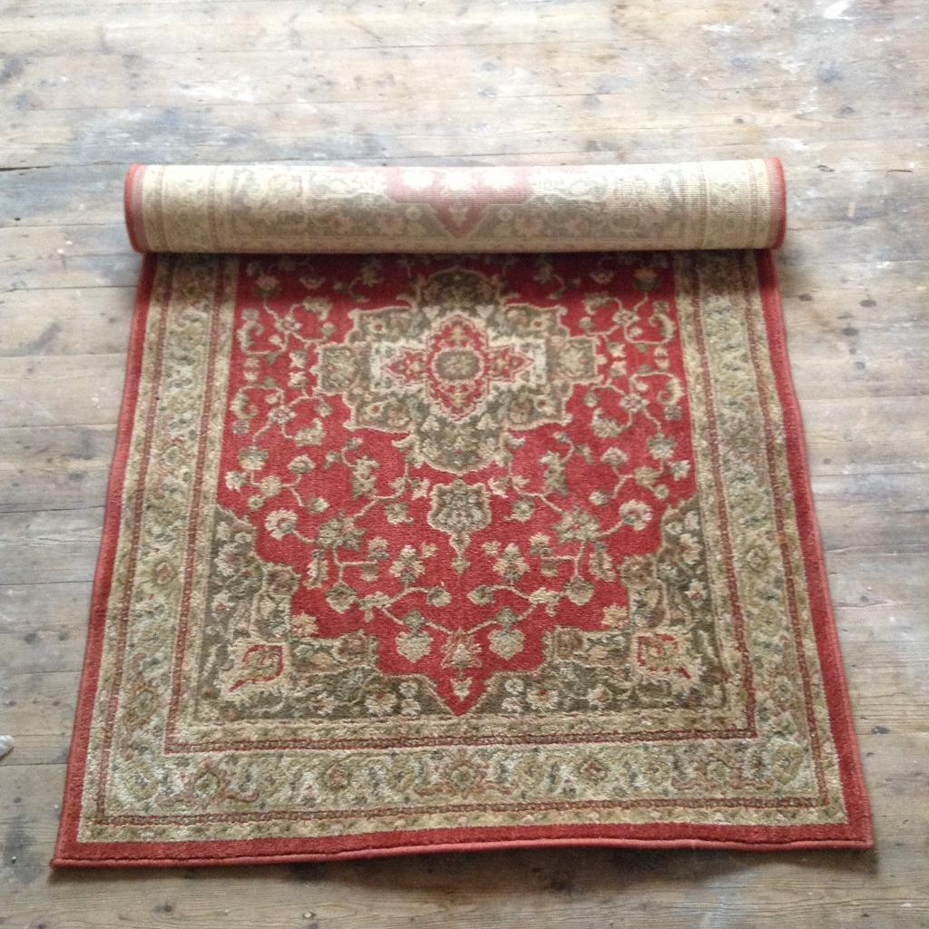 Ornate, traditional patterned rug
