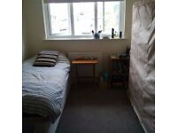 Big single room for rent in bright 2 bedroom flat. £60 all bills included. No agency fees.