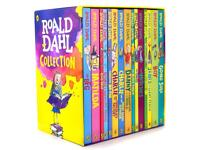 Roald Dahl Box Set Book Collection 15 Books BRAND NEW SEALED IN SLIPCASE
