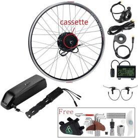 Electric Bike E Bike Kit complete with BATTERY 36V350W Rear Hub. All Wheel Sizes. Motor Easy Fitting