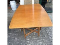 McIntosh mid century teak dining table and chairs