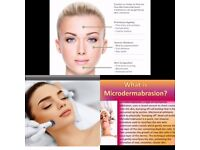 Facial aesthetics and microdermabrasion