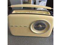 Bush classic retro fm radio in new condition