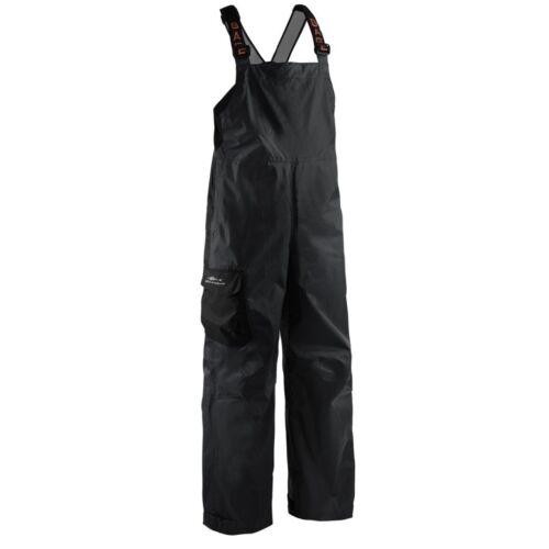 Grundens Weather Watch Sport Fishing Bib Trousers Pants - BLACK - Select Size