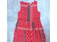 River Island paisley pattern dress. Size 6