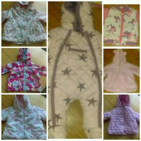 Baby girl coat bundle