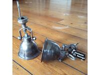 2 Vintage Style Wall Lights £65