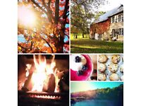 An autumn half term retreat in the heart of rural France - singing, nature, food and well being