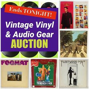 Vintage Vinyl, Audio Gear, Equipment and MORE! Classics, Contemporary, Movie Soundtracks! Ends Thursday Night at 8PM!