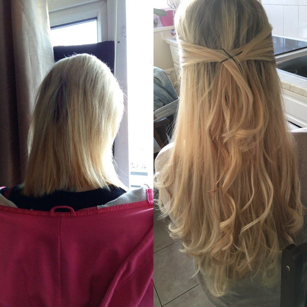 65 Full Head Micro Nano Ring Hair Extensionspre Tape Extensions