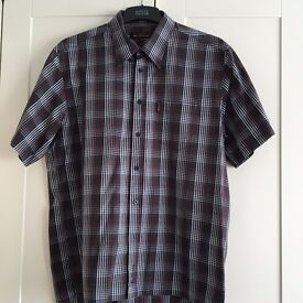 Ben Sherman Men's Short Sleeved Shirt Size XL