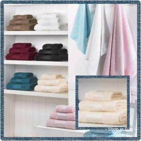 Cream 100% Egyptian cotton towels