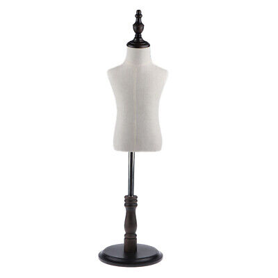 Large Body Dress Form Mannequin Torso Dressmaker Stand Display For Kid Cloth