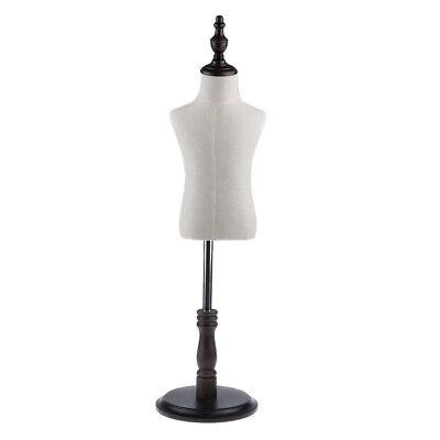Large Body Dress Form Mannequin Torso Dressmaker Stand Display For Kid Cloth
