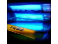 Sunbeds x2 (Megasun & Luxura Deluex.) Package or seperate ( Commercial sunbeds)