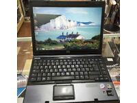 WIRELESS HP COMPAQ 6910P LAPTOP/ INTEL 2.20 GHZ PROCESSOR. 2GB RAM+OFFICE